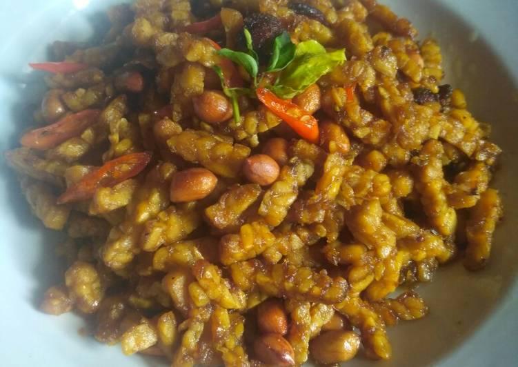 Sambal Goreng Tempe Kacang