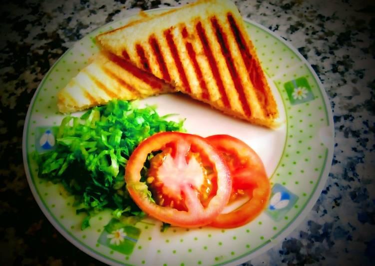 Recipe of Speedy Feta Cheese Sandwich
