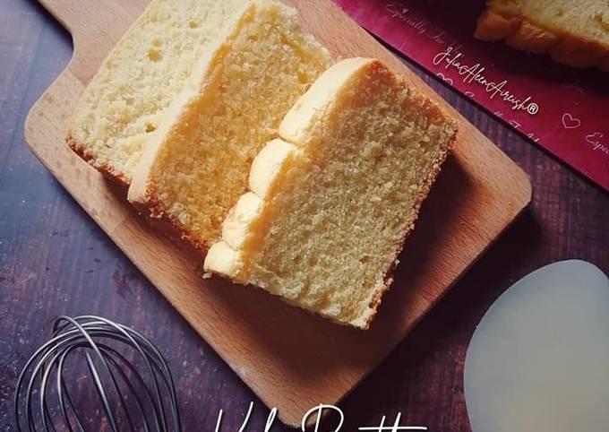 Kek Butter Durian Gebu