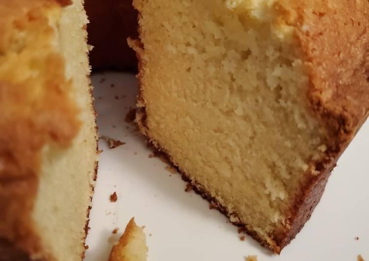 Nine Egg Pound Cake