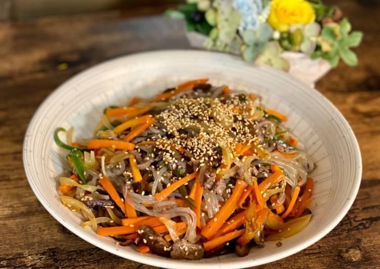 Korean Noodle 'Japchae'잡채