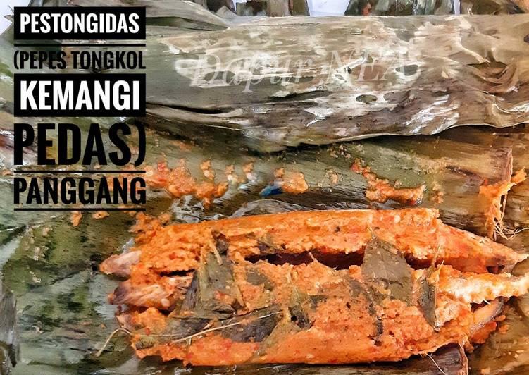 PesTongidas (Pepes Tongkol Kemangi Pedas) PANGGANG