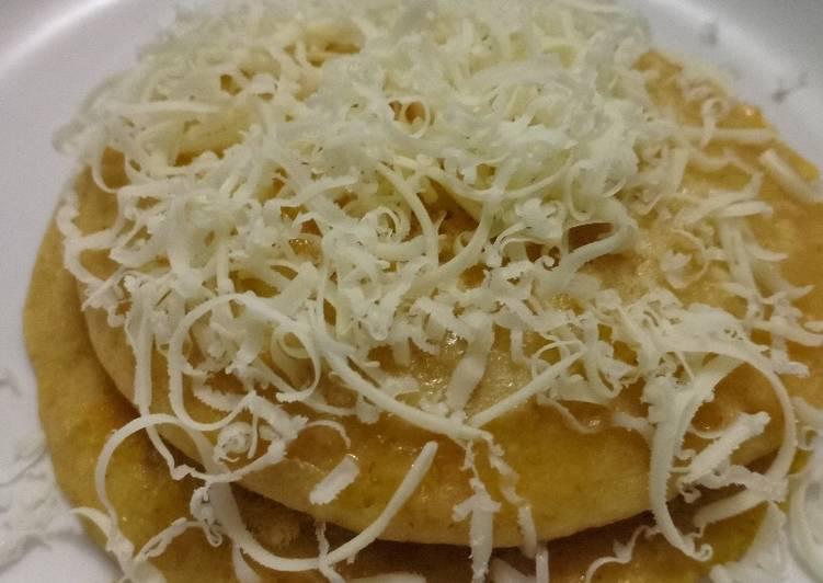 Pancake oat mudah (diet) no tepung, no gula