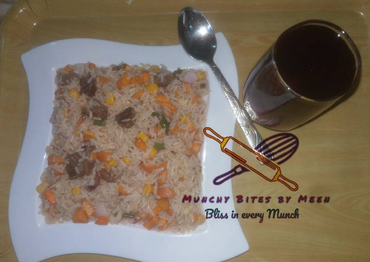 Meen's Stir Fried Rice