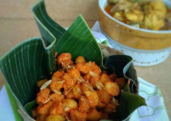 sambal goreng kentang tempe - resepenakbgt.com