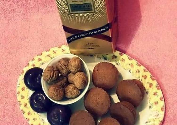 Christmas Wine Plum Cake/Muffins