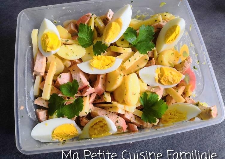 Le moyen le plus simple de Faire Délicieux Salade alsacienne