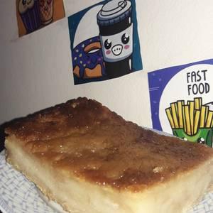 Budín de pan rápido, fácil y económico