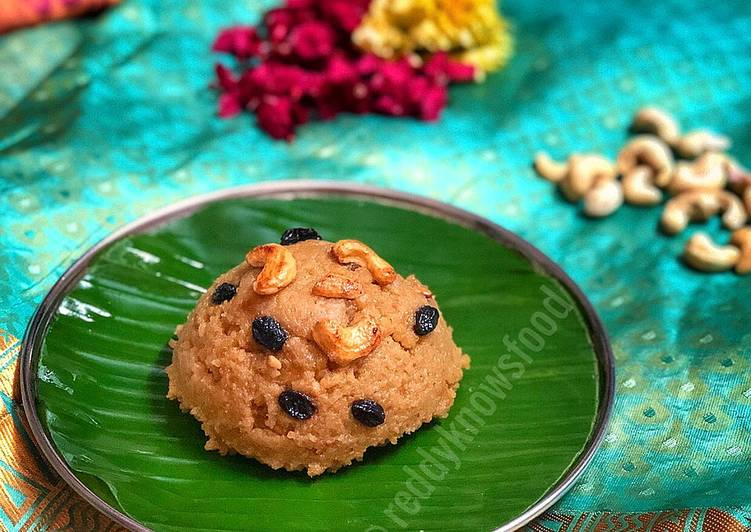 Simple Way to Prepare Most Popular Sweet ghee Pongal (chakkarai Pongal)