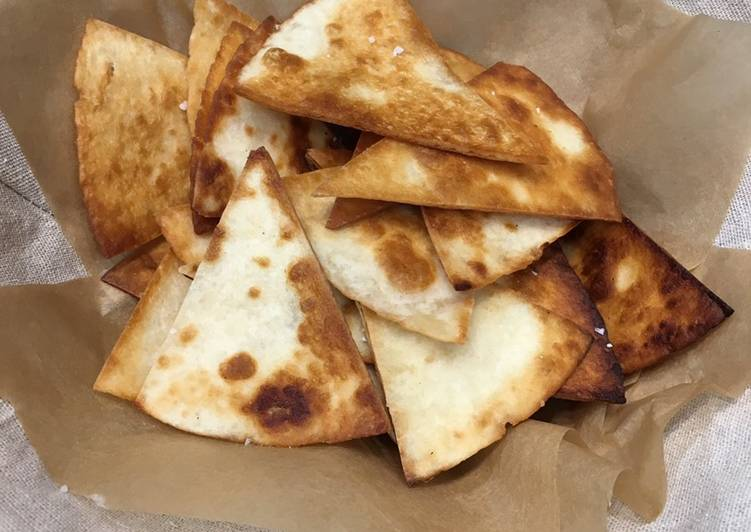 Step-by-Step Guide to Make Quick Crispy Tortilla Chips