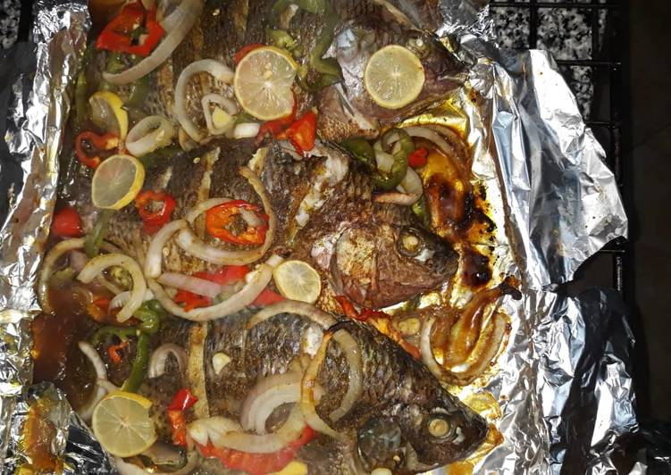 Grilled Tilapia Fish Recipe By Ramat Catering Rental