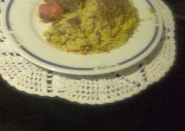 Recipe of Quick Savoury rice