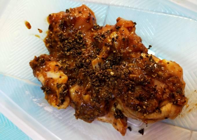 Ayam Bakar BBQ Blackpepper Berapi