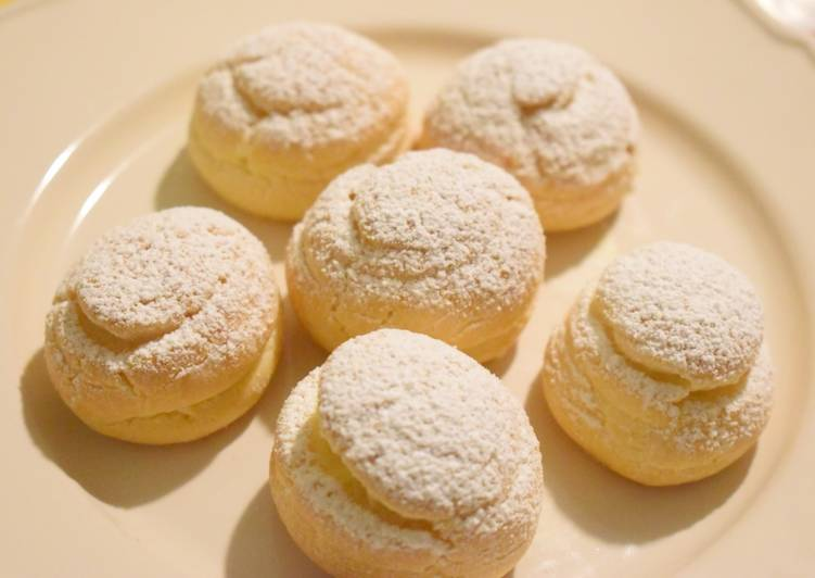 How to Prepare Delicious Cream Puffs