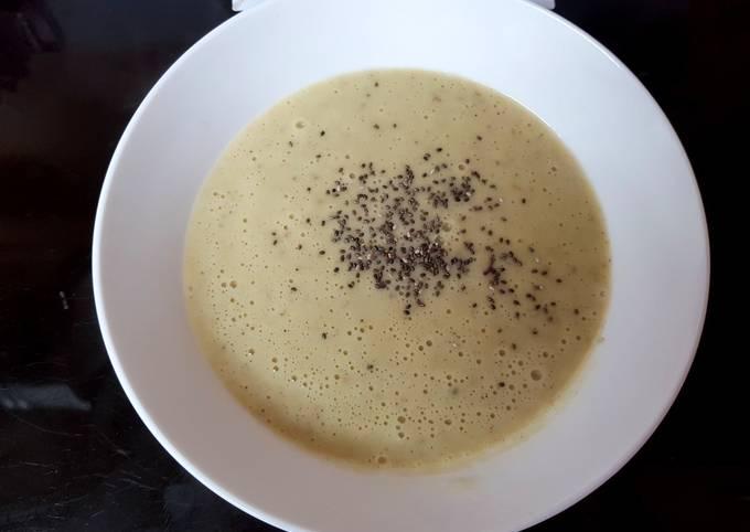 My Leek, Potato & Onion Soup