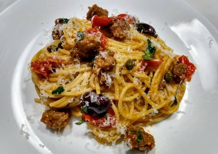Recipe: Appetizing Italian sausage pasta