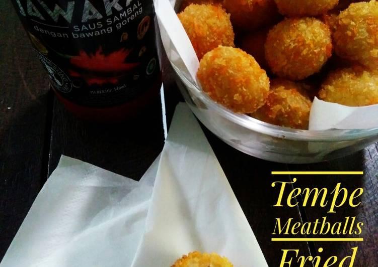 Tempe Meatballs Fried