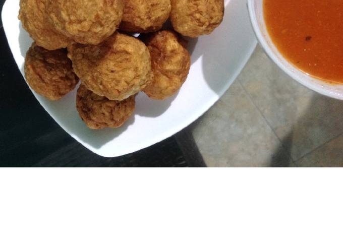 Bakso Goreng Ayam / Baso Goreng Ayam