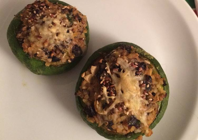 Veganos rellenos receta zapallitos de