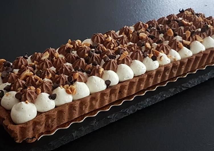 Délicieux Tarte snickers revisité
