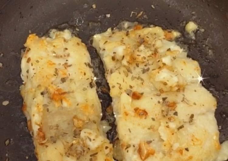 Butter Garlic Dory Fish (Ikan Dori)