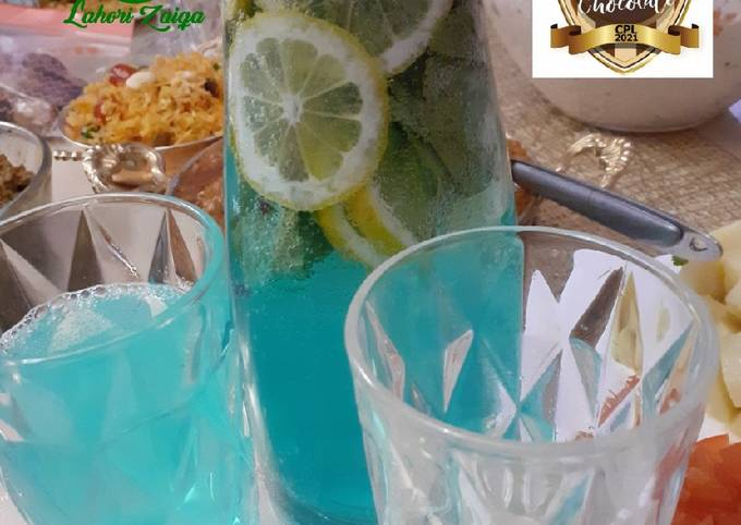 Mint lemonade mojito