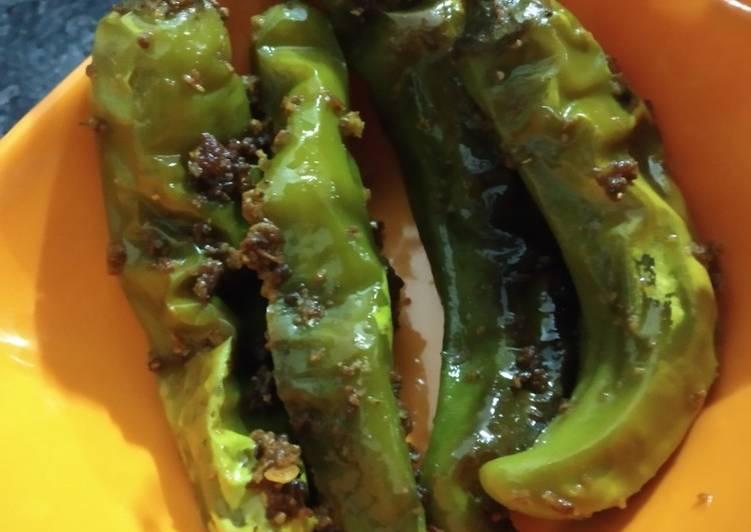 Stuffed Green chilli