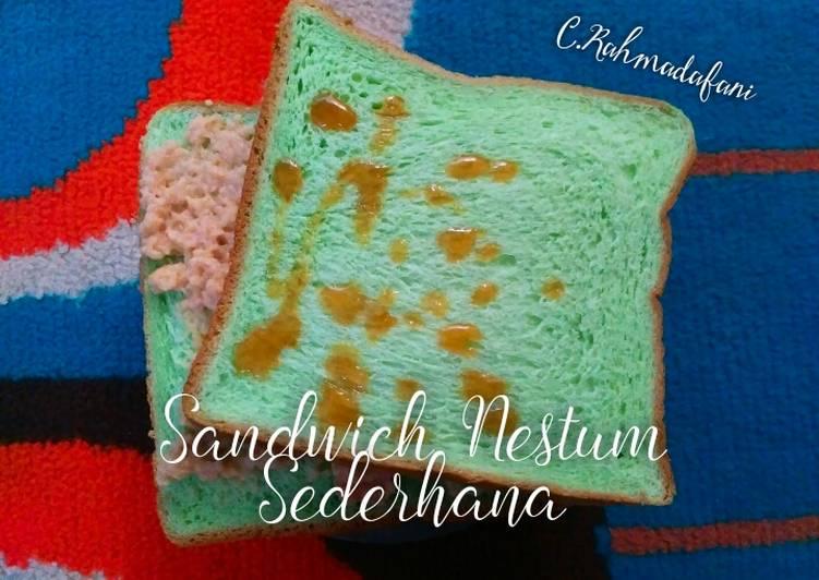 Sandwich Nestum Sederhana