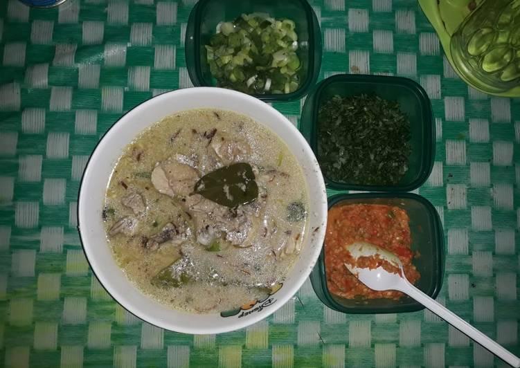 Coto Makassar Daging Ayam Ala Medan