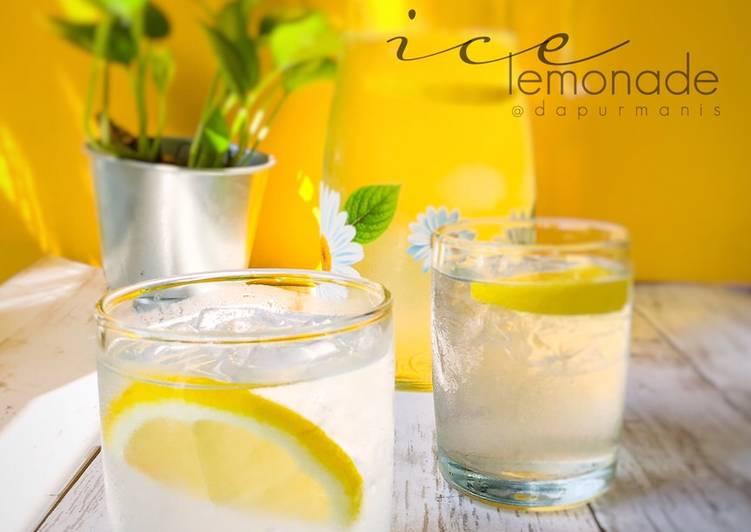 Ice lemonade - resepipouler.com