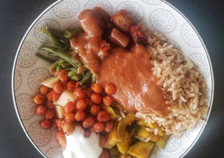 recette Buddha bowl (végétarien) Le plus simple