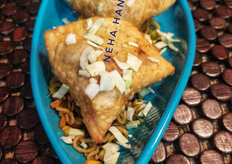 Steps to Prepare Favorite Maggie Samosa