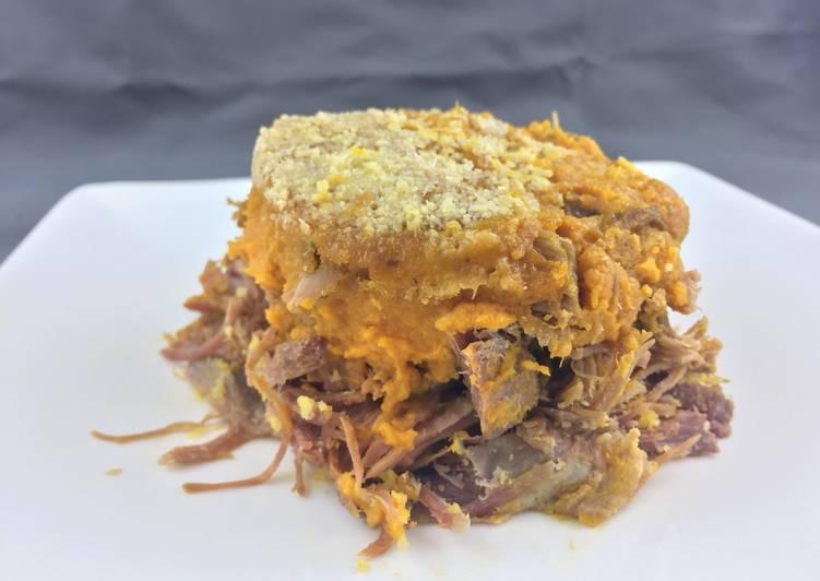 La Recette Pas à Pas Parmentier de canard et patate douce