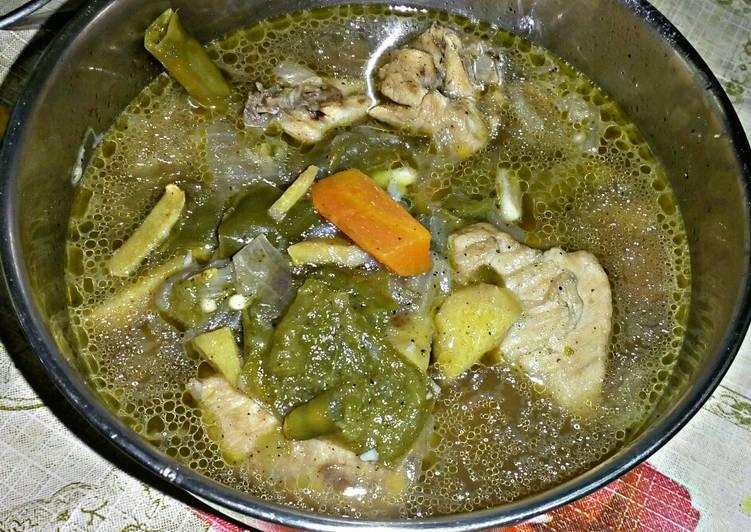 Recipe: Yummy Chicken stew with Vegetables