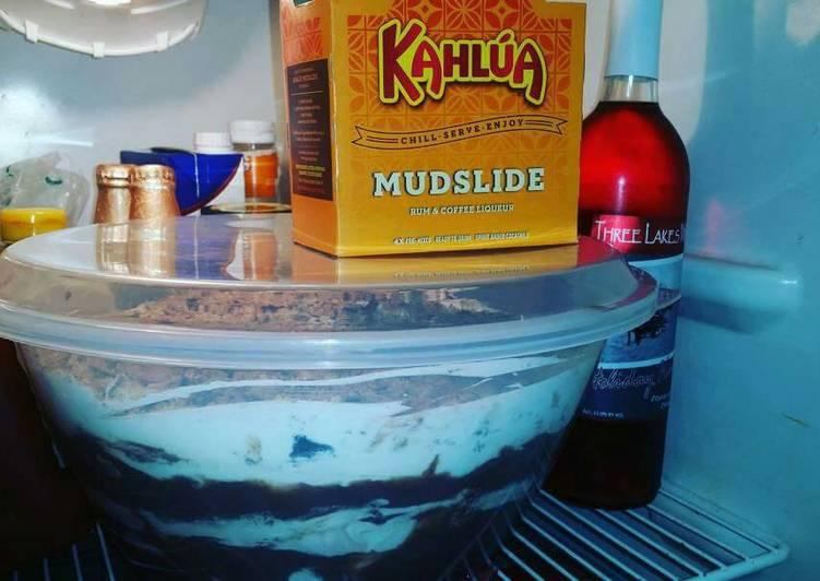Kahlua Mudslide Trifle