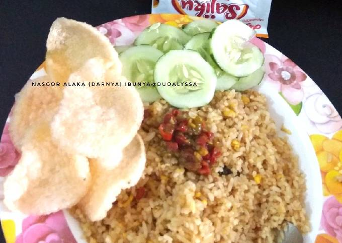 Nasgor / Nasi goreng Alaka (darnya)