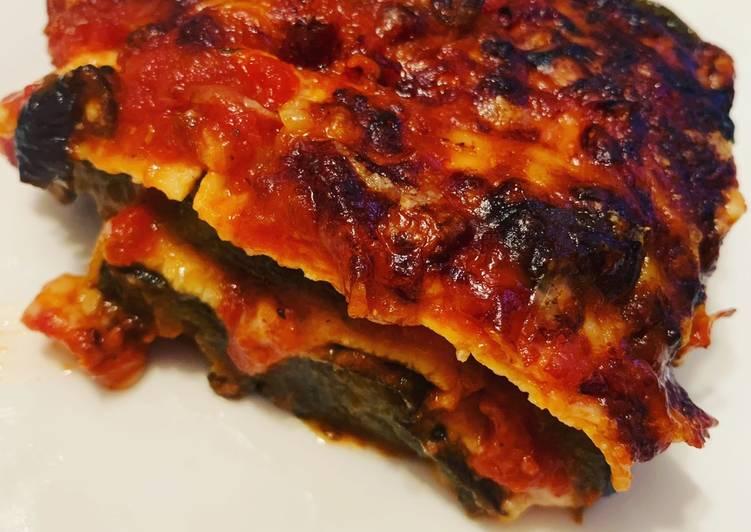 Steps to Make Quick Eggplant Lasagna