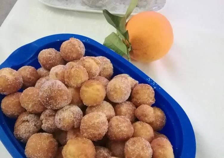 Castagnole al profumo di arance