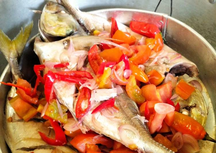 Ikan tim asam pedas simpel