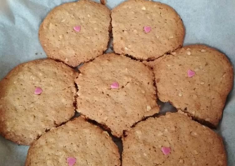 Cookies au spéculoos et noisettes