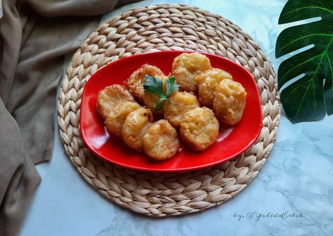 Perkedel kentang & Singkong (pelengkap soto banjar)