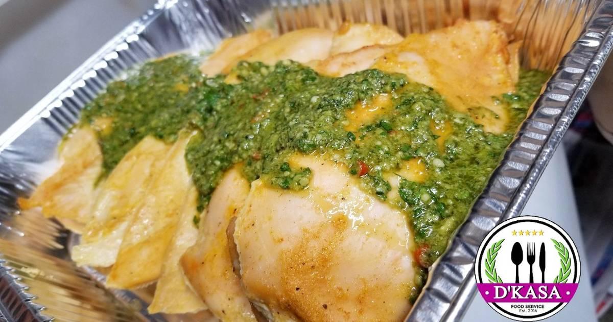Pechugas De Pollo En Salsa Pesto Criolla Receta De Jose D Kasa