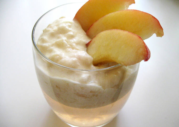 Easiest Way to Prepare Perfect Peach Fool & Peach Jelly