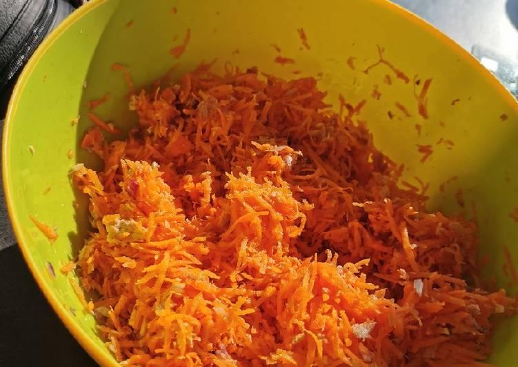 La Délicieuse Recette du Salade carotte rapé thon