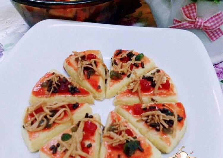Resepi:  �biskut mini pizza�  Enak