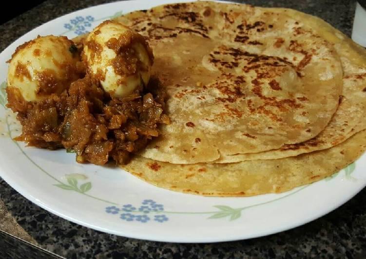 Easy egg and onion fry masala