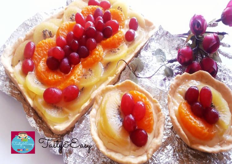 Resep Pie Buah Makyus🍊🍇 Paling Enak