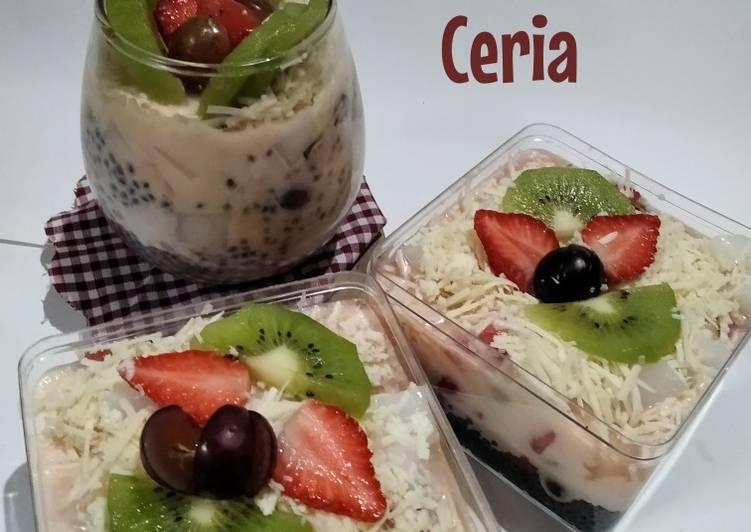 *Salad buah ceria* - cookandrecipe.com