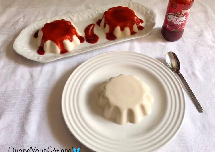 Recette: Petits flans renversés à la vanille sans œufs