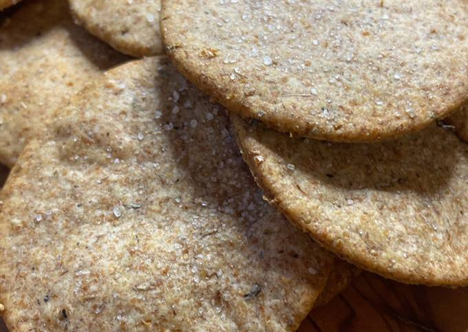 Easiest Way to Make Delicious Sourdough Crackers or Breadsticks with Extra Virgin Olive Oil & Herbs